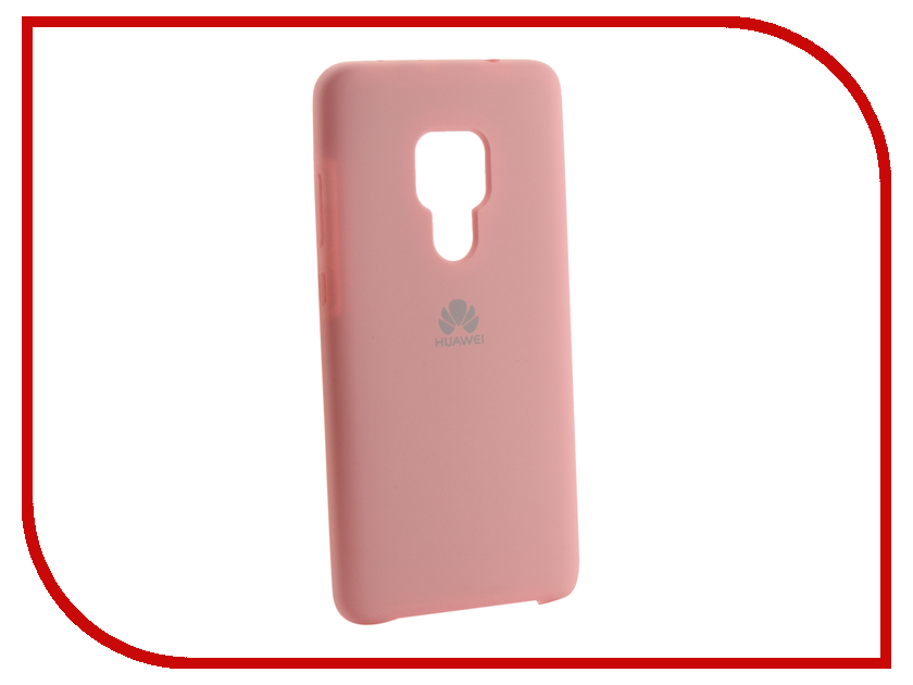 Аксессуар Чехол для Huawei Mate 20 Innovation Silicone Pink 13519 аксессуар чехол для huawei mate 20 lite innovation silicone pink 13524