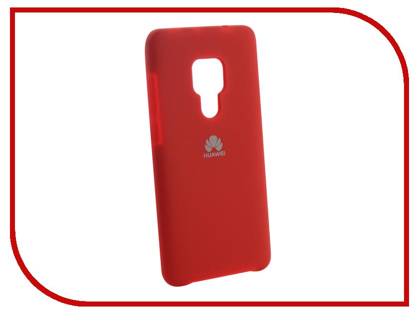 Аксессуар Чехол для Huawei Mate 20 Innovation Silicone Red 13518 аксессуар чехол для huawei mate 20 innovation silicone pink 13519