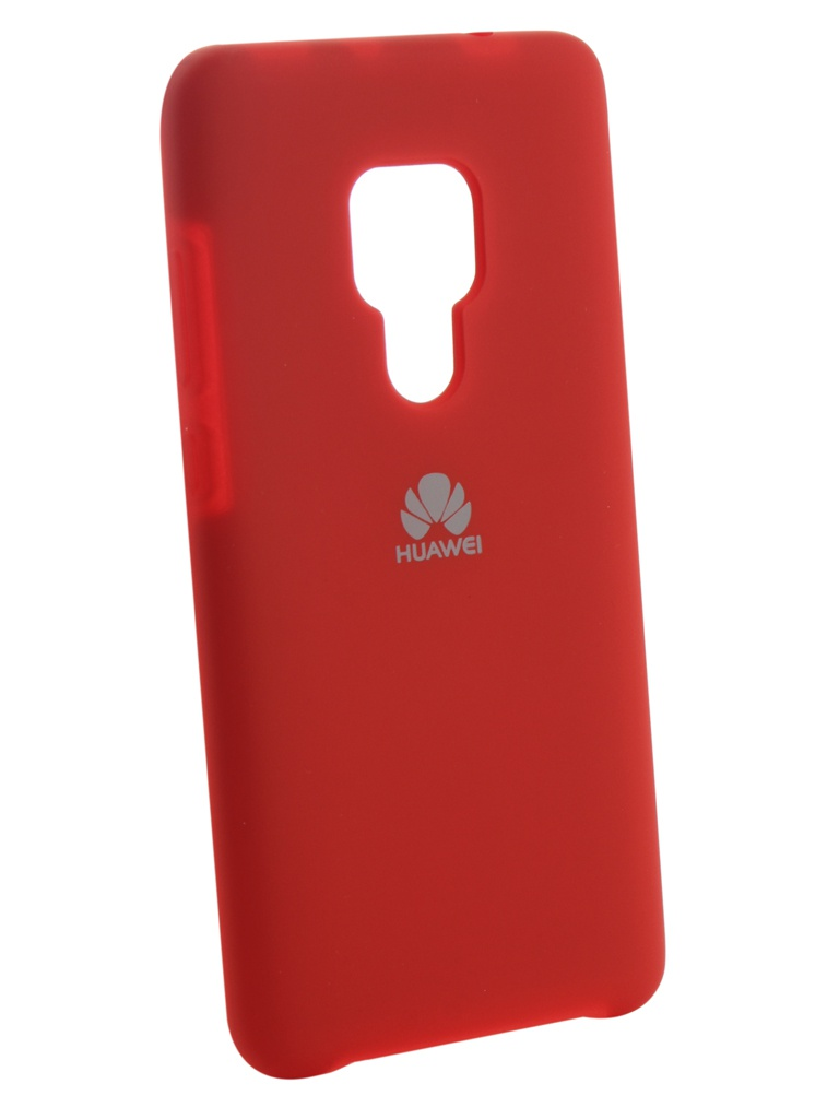 Аксессуар Чехол Innovation для Huawei Mate 20 Silicone Red 13518