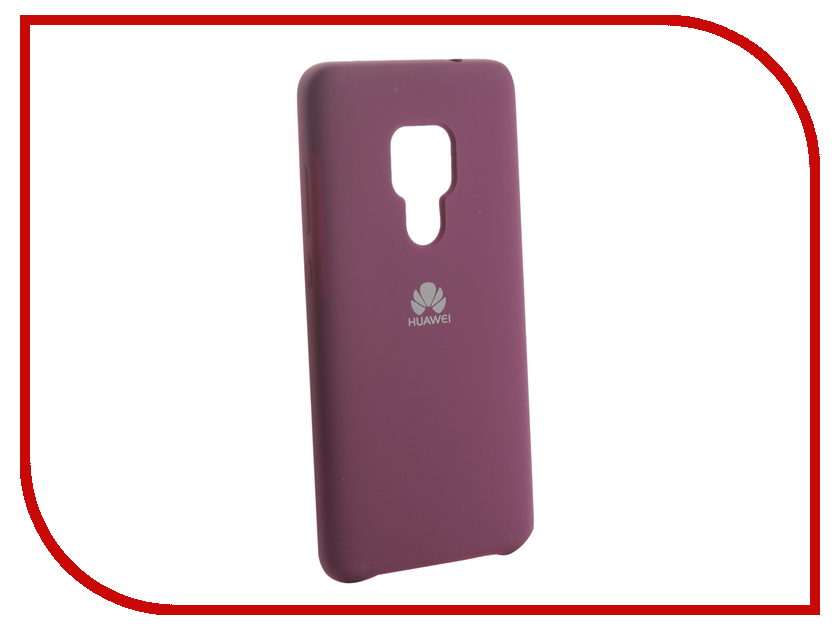 Аксессуар Чехол для Huawei Mate 20 Innovation Silicone Purple 13517 аксессуар чехол для huawei 7s p smart innovation silicone purple 13559
