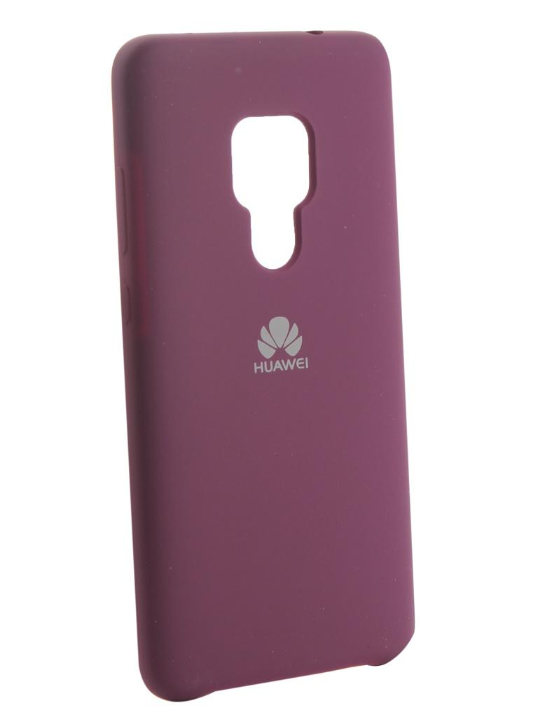 Аксессуар Чехол Innovation для Huawei Mate 20 Silicone Purple 13517
