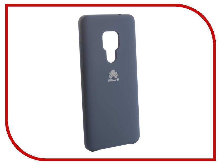 Аксессуар Чехол для Huawei Mate 20 Innovation Silicone Blue 13516 аксессуар чехол для huawei mate 20 innovation silicone pink 13519