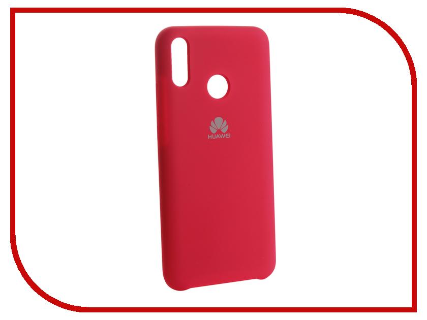 Аксессуар Чехол для Huawei Y9 2019 Innovation Silicone Pink 13514 аксессуар чехол для huawei p smart 7s innovation silicone pink 12840