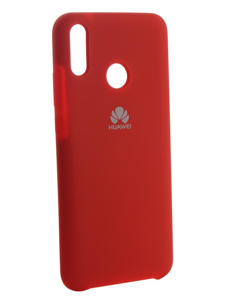 Чехол Innovation для Huawei Y9 2019 Silicone Red 13513