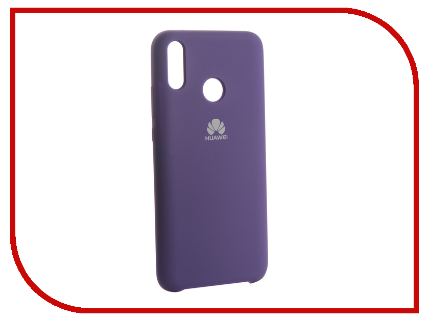Аксессуар Чехол для Huawei Y9 2019 Innovation Silicone Purple 13512 аксессуар чехол для huawei 7s p smart innovation silicone purple 13559