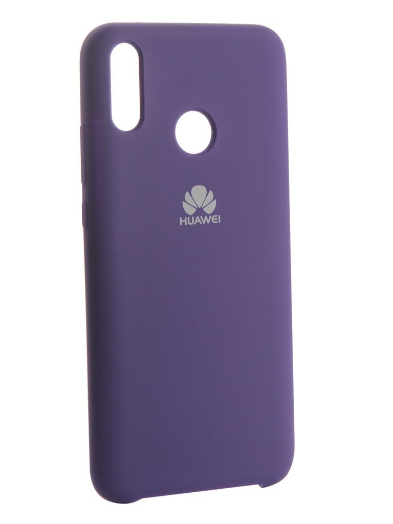 Аксессуар Чехол Innovation для Huawei Y9 2019 Silicone Purple 13512