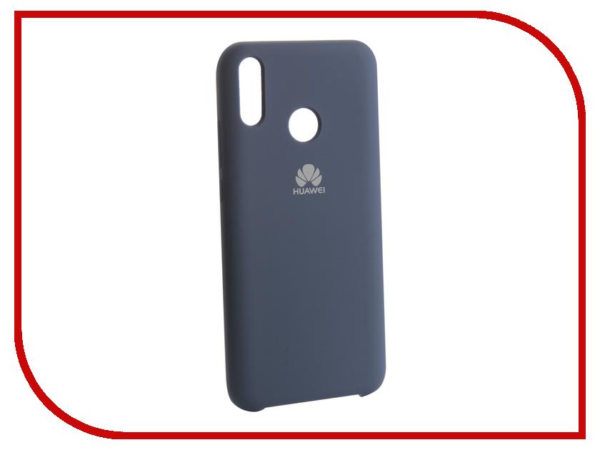 Аксессуар Чехол для Huawei Y9 2019 Innovation Silicone Blue 13511 аксессуар чехол для huawei p smart 7s innovation silicone pink 12840