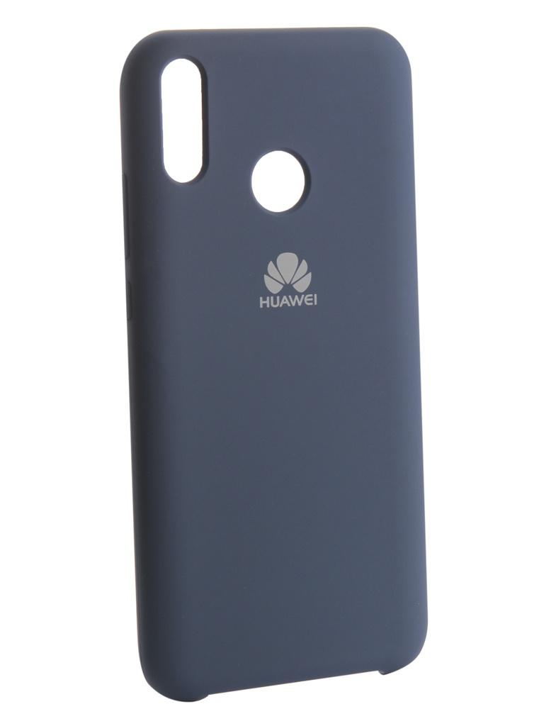 Чехол Innovation для Huawei Y9 2019 Silicone Blue 13511