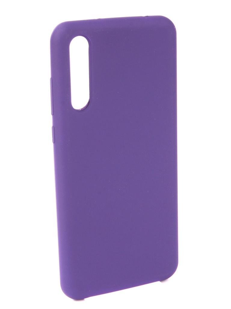 Аксессуар Чехол Innovation для Huawei P20 Pro Silicone Purple 13507