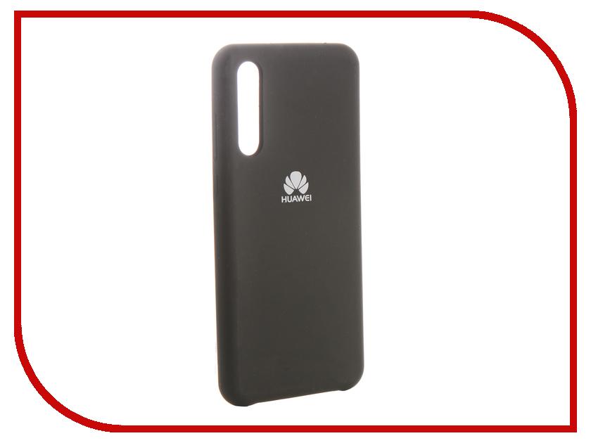 Аксессуар Чехол для Huawei P20 Pro Innovation Silicone Black 13505 аксессуар чехол для huawei p20 lite innovation silicone pink 12617