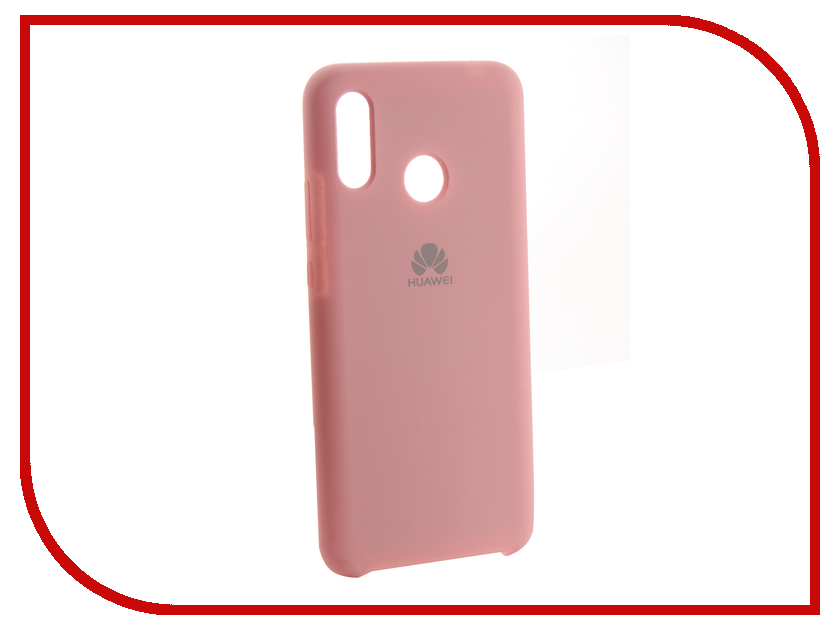 Аксессуар Чехол для Huawei Nova 3 Innovation Silicone Pink 13504 анатомический вибратор wv nova pink we vibe nova pink