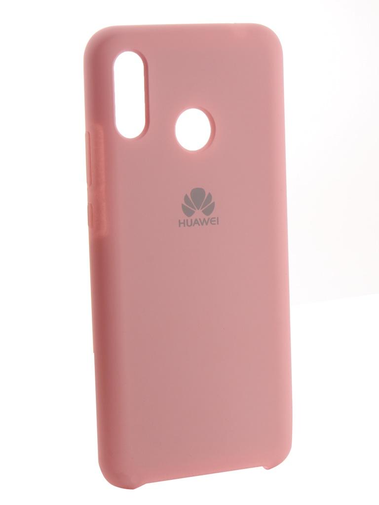 Аксессуар Чехол Innovation для Huawei Nova 3 Silicone Pink 13504
