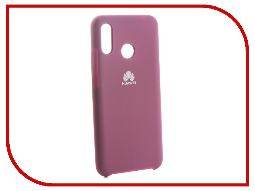 Аксессуар Чехол для Huawei Nova 3 Innovation Silicone Purple 13502 13502