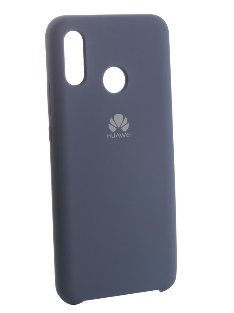 Аксессуар Чехол Innovation для Huawei Nova 3 Silicone Blue 13501 аксессуар