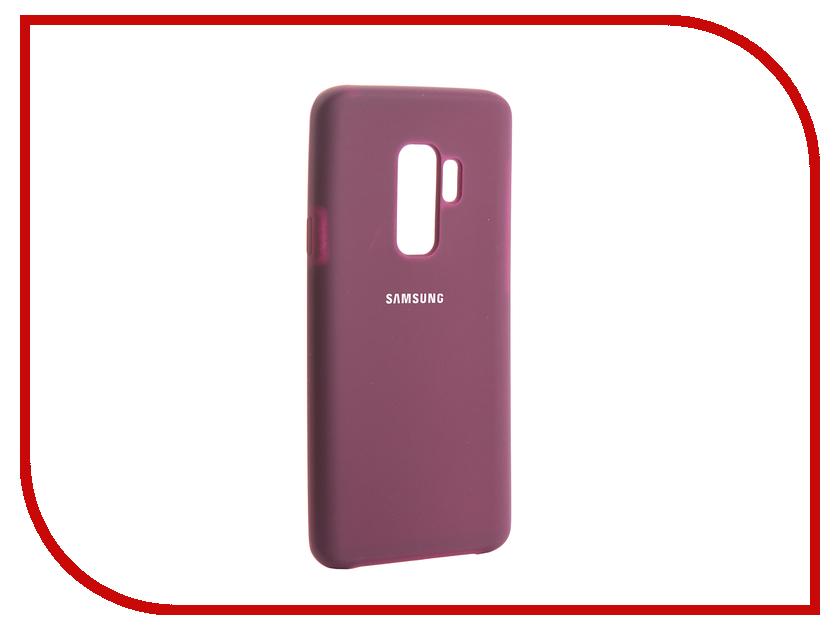 Аксессуар Чехол для Samsung Galaxy S9 Plus Innovation Silicone Purple 13576 цена и фото