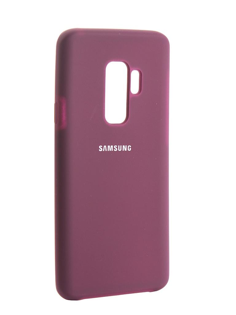 Аксессуар Чехол Innovation Silicone для Samsung Galaxy S9 Plus Purple 13576
