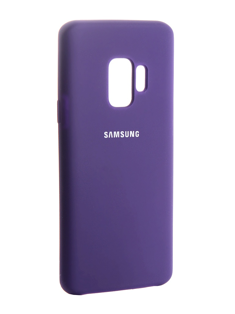 Аксессуар Чехол Innovation Silicone для Samsung Galaxy S9 Purple 13575