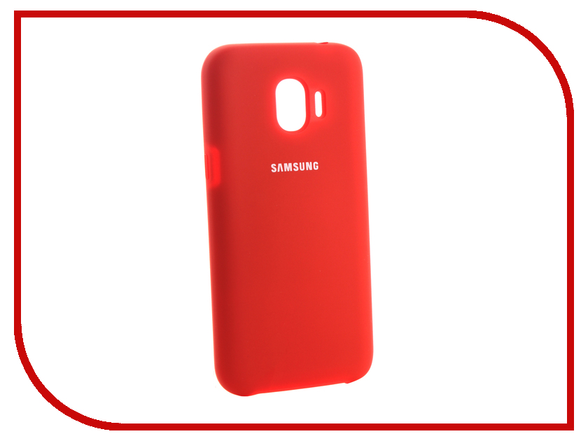 Аксессуар Чехол для Samsung Galaxy J2 2018 Innovation Silicone Red 13493 аксессуар чехол для samsung galaxy j2 2018 innovation book silicone red 12175