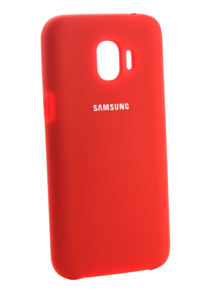 Аксессуар Чехол Innovation для Samsung Galaxy J2 2018 Silicone Red 13493