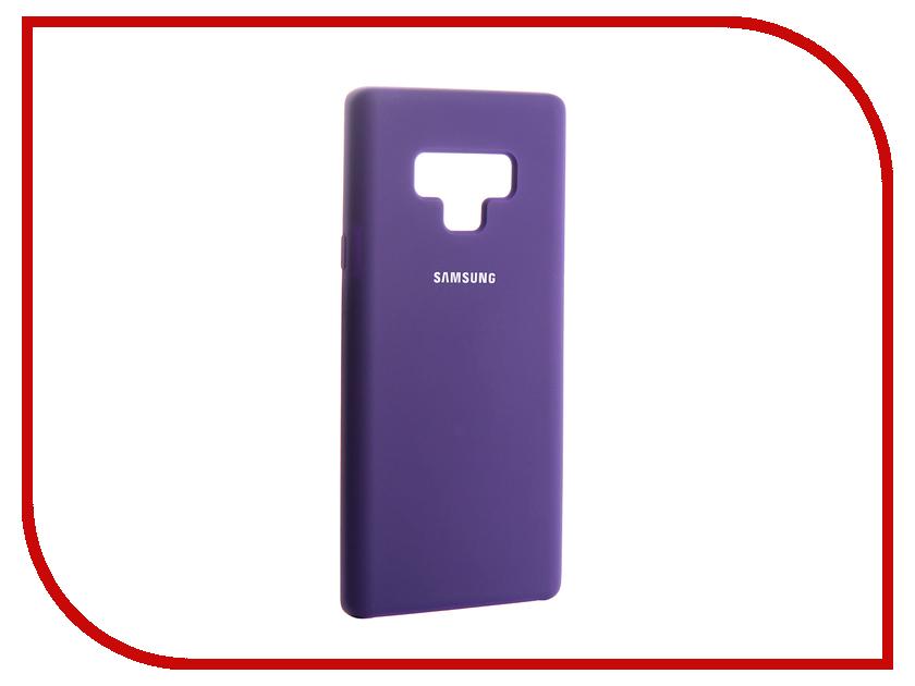 Аксессуар Чехол для Samsung Galaxy Note 9 Innovation Silicone Purple 13573 аксессуар чехол samsung j3 2017 j330f zibelino clear view black zcv sam j330 blk