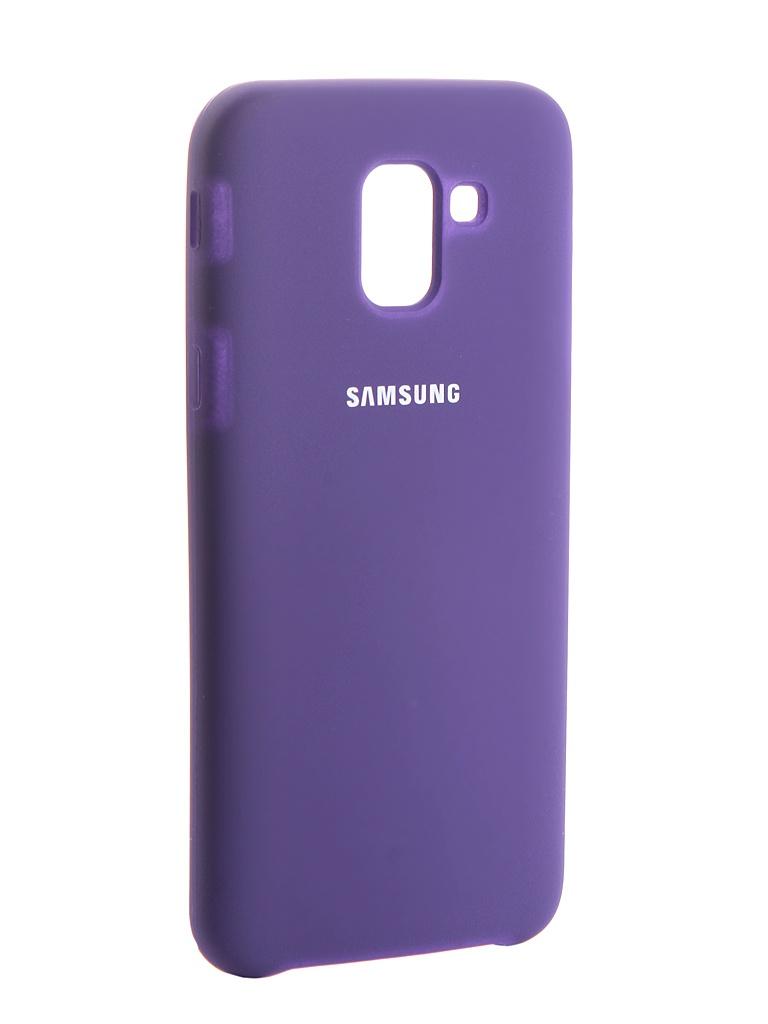 Чехол Innovation для Samsung Galaxy J6 2018 Silicone Purple 13572