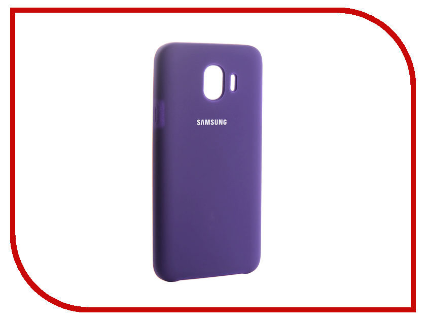 Аксессуар Чехол для Samsung Galaxy J4 2018 Innovation Silicone Purple 13571 wooden bluetooth speaker with fm radio tf card slot mic wireless stereo subwoofer portable for bluedio xiaomi iphone samsung mp3