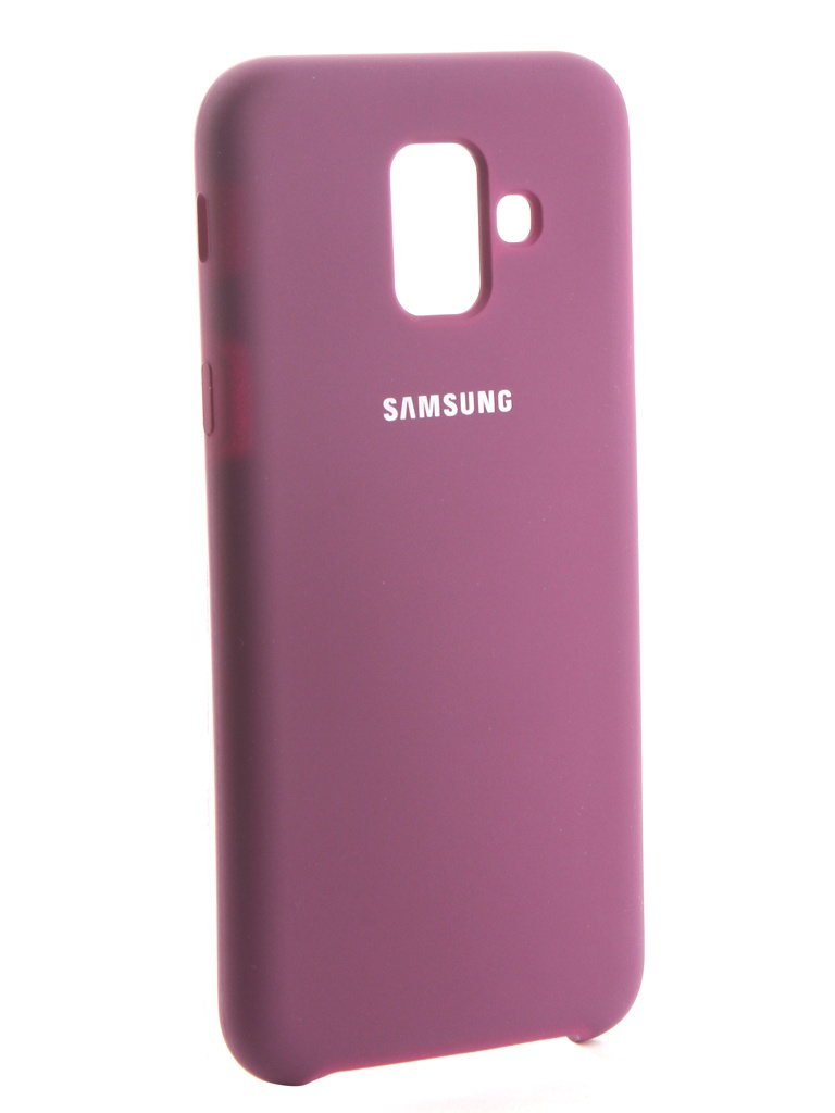 Аксессуар Чехол Innovation для Samsung Galaxy A6 2018 Silicone Purple 13566 аксессуар чехол innovation для samsung galaxy j2 2018 silicone purple 13492