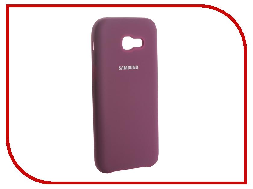 Аксессуар Чехол для Samsung Galaxy A5 2017 Innovation Silicone Purple 13565 аксессуар чехол для samsung galaxy a5 2017 innovation silicone black 12205