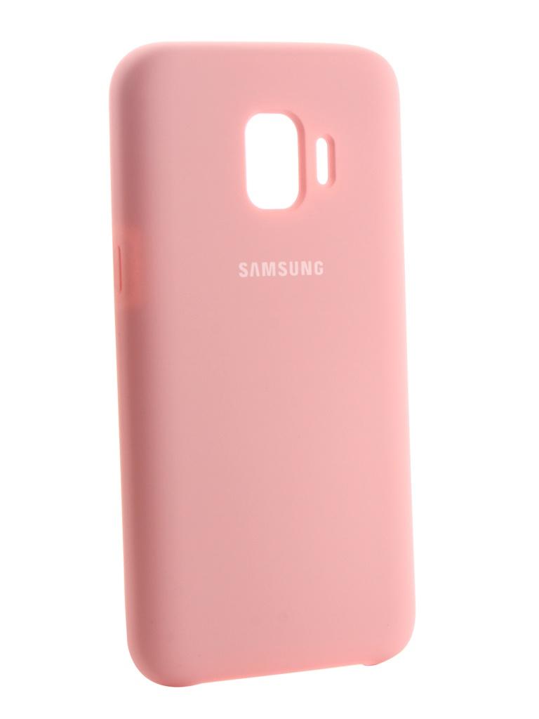 Аксессуар Чехол Innovation для Samsung Galaxy J2 Core 2018 Silicone Pink 13499 аксессуар чехол накладка samsung galaxy j2 2018 jelly cover pink ef aj250tpegru