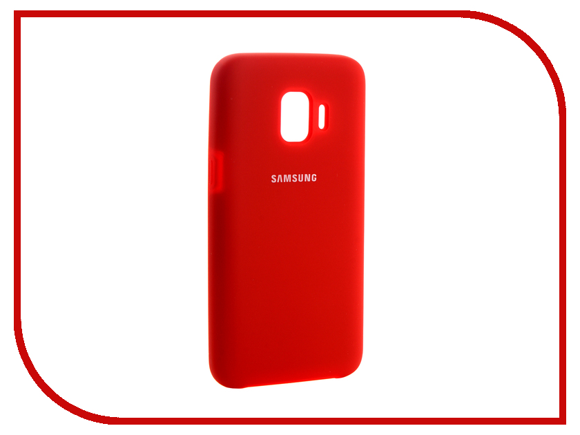 Аксессуар Чехол для Samsung Galaxy J2 Core 2018 Innovation Silicone Red 13498 аксессуар чехол для samsung galaxy j2 2018 innovation book silicone red 12175