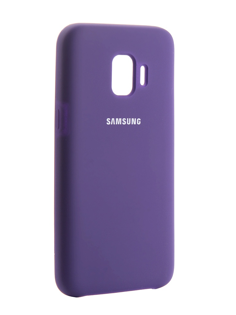 Чехол Innovation для Samsung Galaxy J2 Core 2018 Silicone Purple 13497