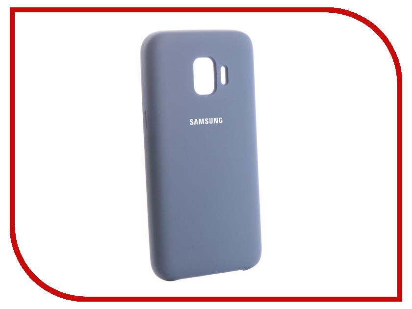 Аксессуар Чехол для Samsung Galaxy J2 Core 2018 Innovation Silicone Blue 13496 аксессуар чехол для samsung galaxy j7 2017 j730f innovation silicone blue 10675
