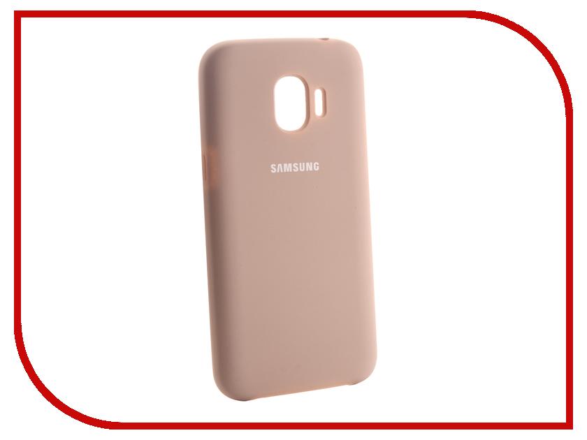 Аксессуар Чехол для Samsung Galaxy J2 2018 Innovation Silicone Pink 13494