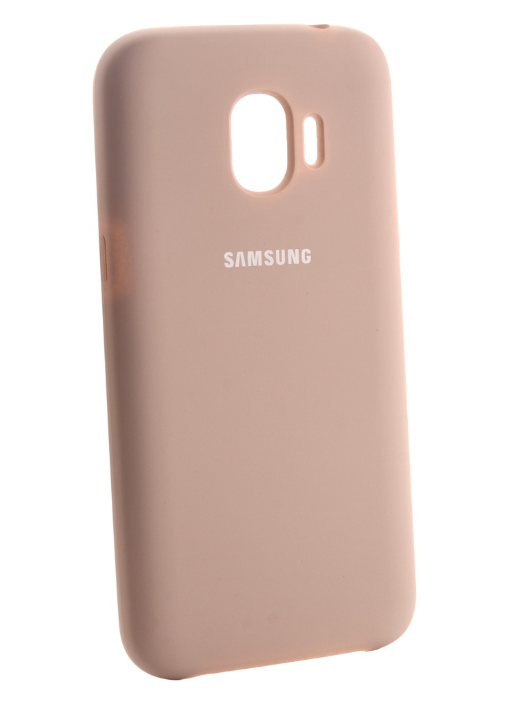 Аксессуар Чехол Innovation для Samsung Galaxy J2 2018 Silicone Pink 13494 аксессуар чехол накладка samsung galaxy j2 2018 jelly cover pink ef aj250tpegru