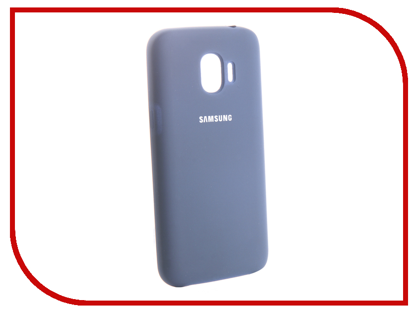 Аксессуар Чехол для Samsung Galaxy J2 2018 Innovation Silicone Blue 13491 аксессуар чехол samsung j3 2017 j330f zibelino clear view black zcv sam j330 blk