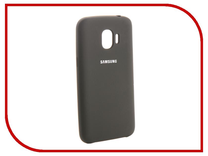 Аксессуар Чехол для Samsung Galaxy J2 2018 Innovation Silicone Black 13490 аксессуар чехол для samsung galaxy a5 2017 innovation silicone black 12205