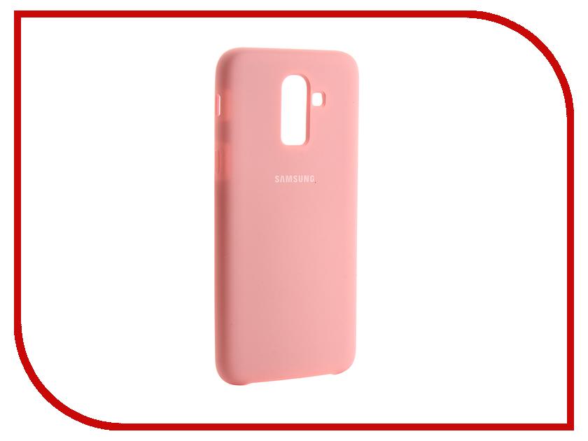 Аксессуар Чехол для Samsung Galaxy J8 2018 Innovation Silicone Pink 13489 аксессуар чехол для huawei p smart 7s innovation silicone pink 12840