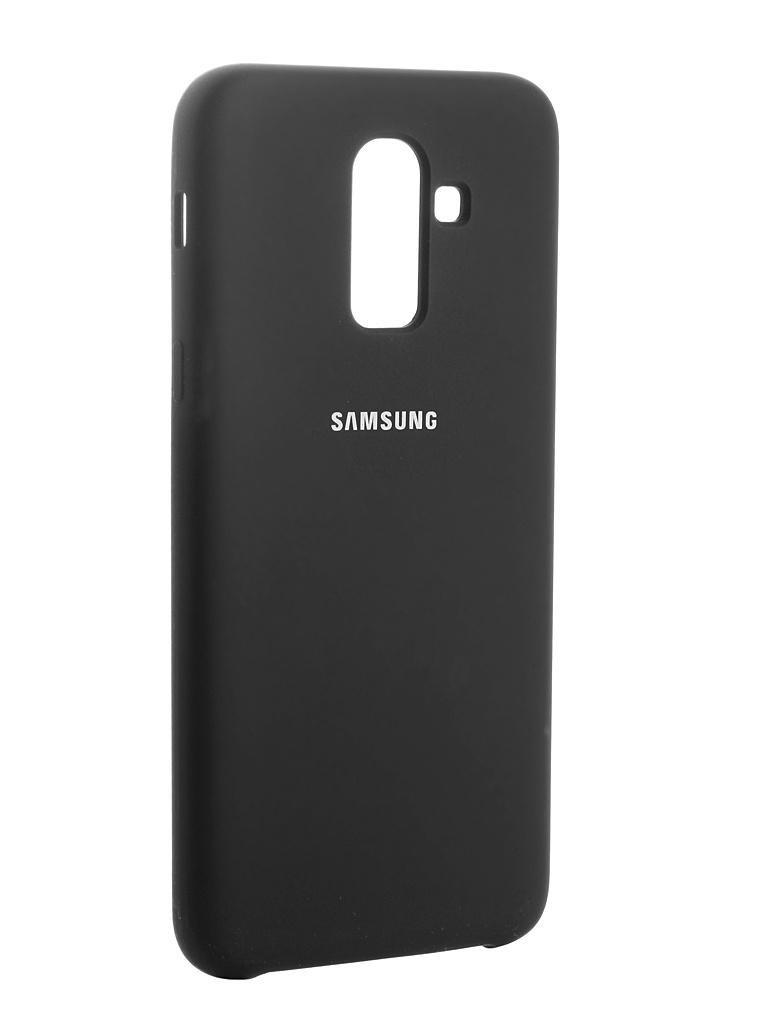Аксессуар Чехол Innovation для Samsung Galaxy J8 2018 Silicone Black 13485 аксессуар чехол snoogy для samsung i9600 galaxy s5 creative silicone 0 3mm black