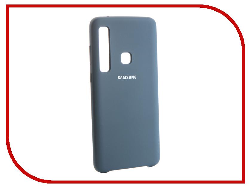 Аксессуар Чехол для Samsung Galaxy A9 2018 Innovation Silicone Blue 13481 аксессуар чехол samsung j3 2017 j330f zibelino clear view black zcv sam j330 blk