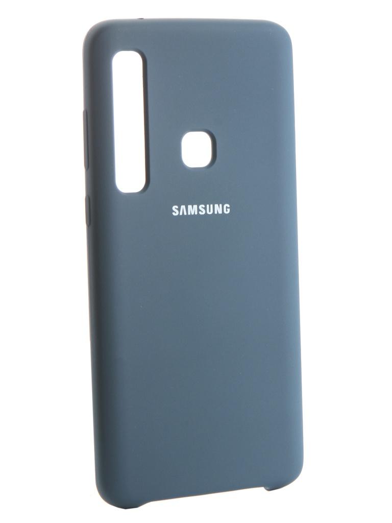 Аксессуар Чехол Innovation для Samsung Galaxy A9 2018 Silicone Blue 13481 скатерть акварель арт 13481