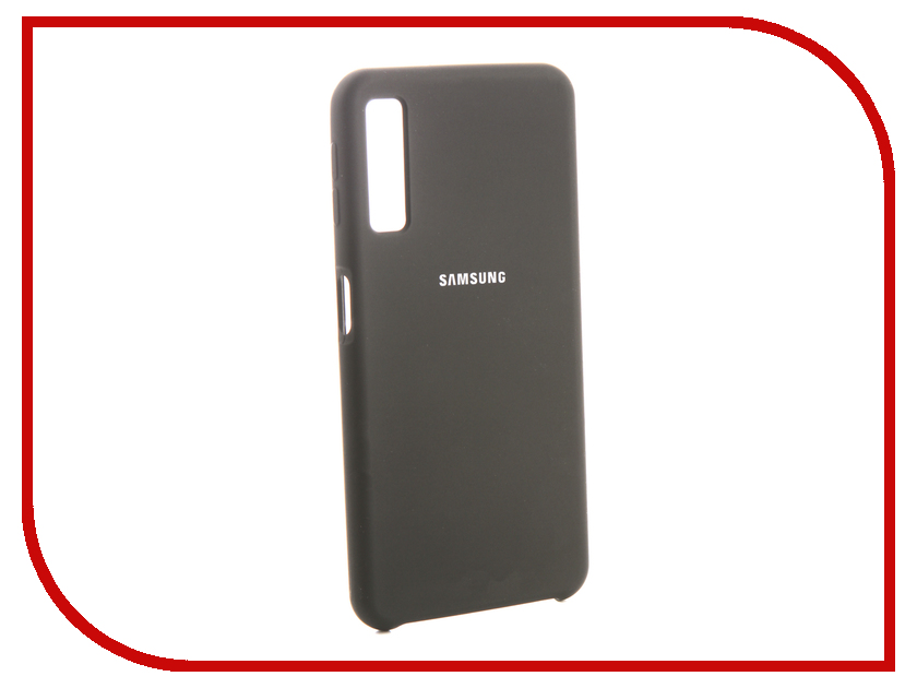 Аксессуар Чехол для Samsung Galaxy A7 2018 Innovation Silicone Black 13475