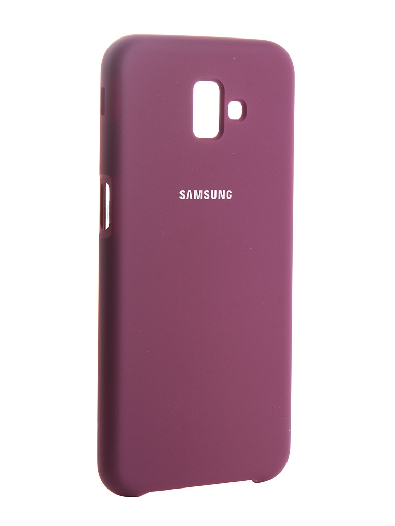 Чехол Innovation для Samsung Galaxy J6 Plus 2018 Silicone Purple 13472