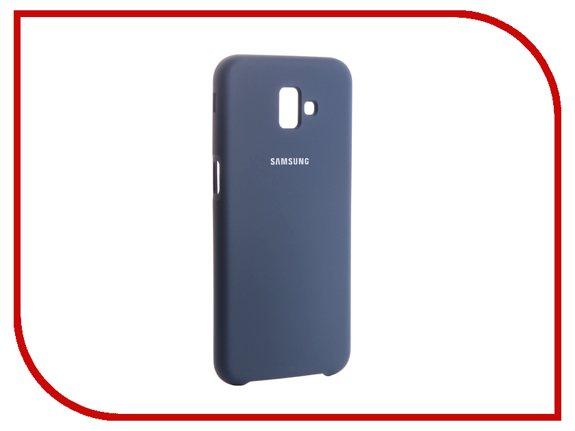 Аксессуар Чехол для Samsung Galaxy J6 Plus 2018 Innovation Silicone Blue 13471 аксессуар чехол для samsung galaxy j7 2017 j730f innovation silicone blue 10675