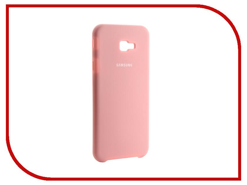 Аксессуар Чехол для Samsung Galaxy J4 Plus 2018 Innovation Silicone Pink 13469 аксессуар чехол для huawei p smart 7s innovation silicone pink 12840