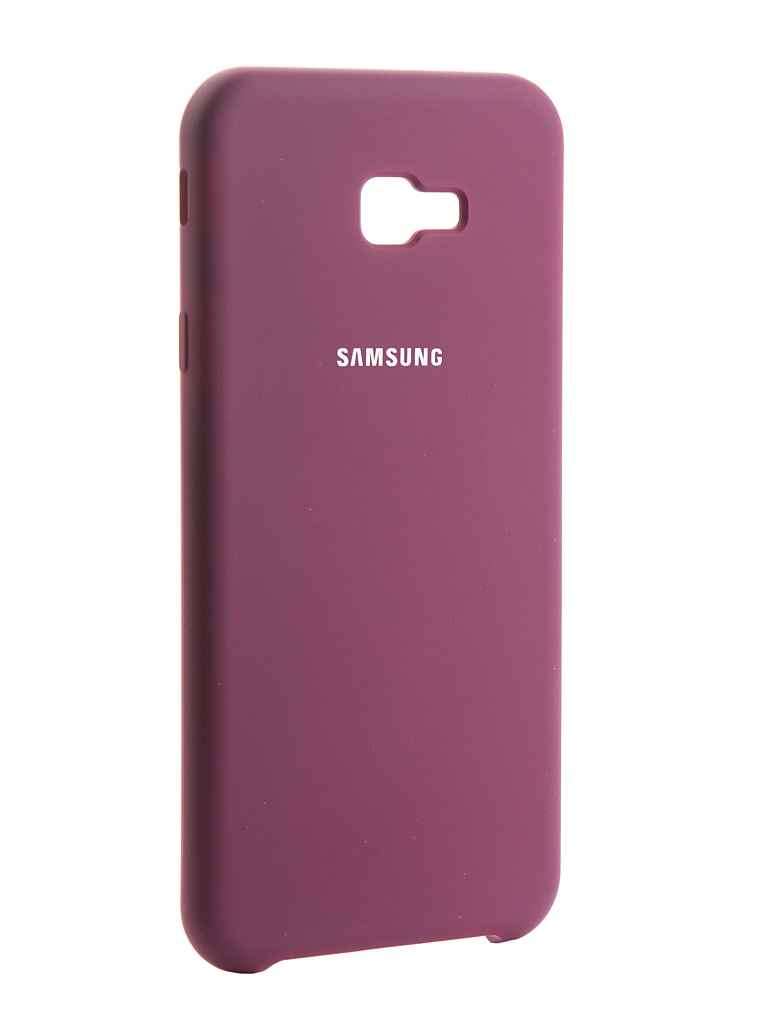Чехол Innovation для Samsung Galaxy J4 Plus 2018 Silicone Purple 13467