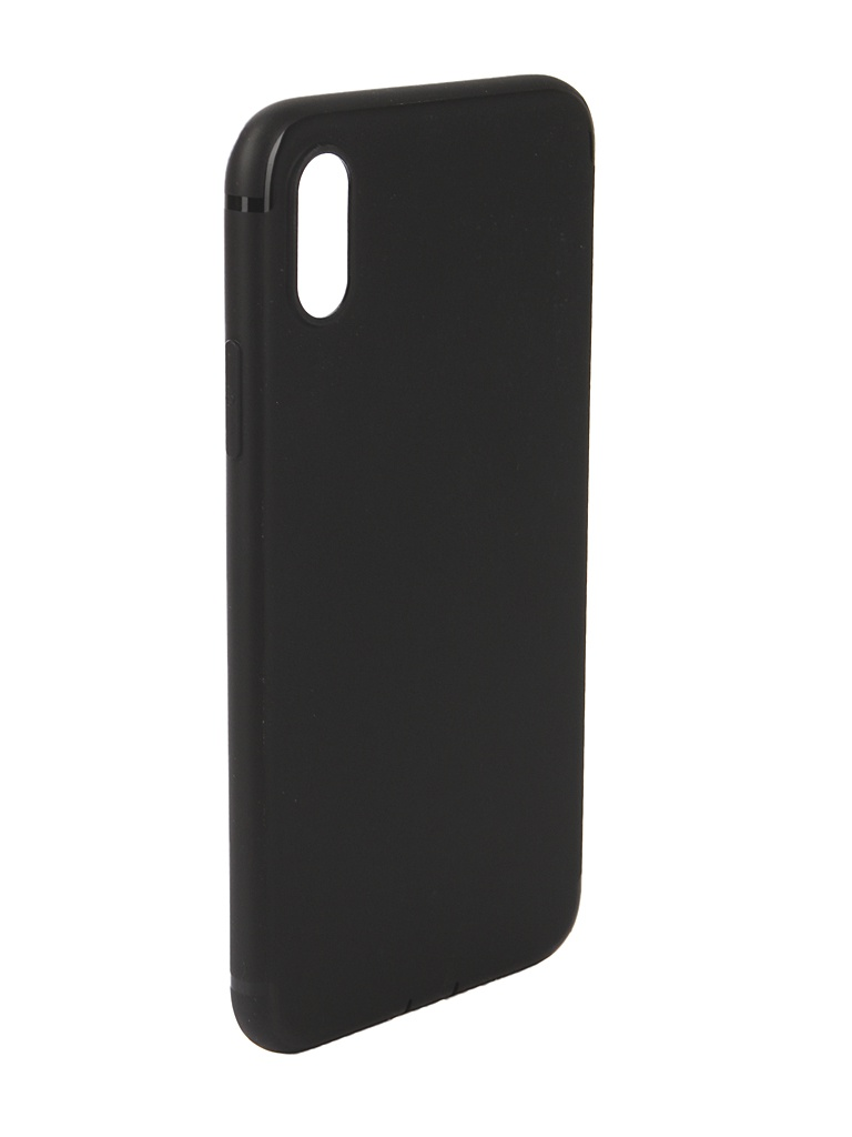 Аксессуар Чехол Innovation для APPLE iPhone XS Matte Black 13317 аксессуар чехол innovation для apple iphone xs max matte black 13319