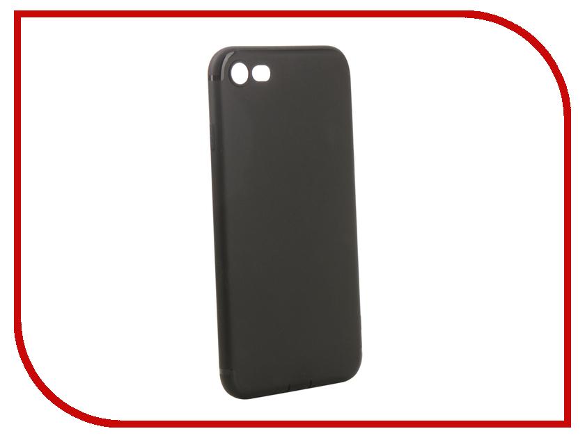 Аксессуар Чехол для APPLE iPhone 7/8 Innovation Matte Black 13313 аксессуар чехол innovation jeans для apple iphone 7 8 blue 10778
