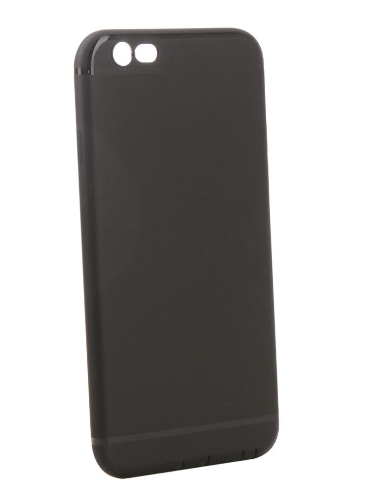 Аксессуар Чехол Innovation для APPLE iPhone 6/6S Matte Black 13312 цена