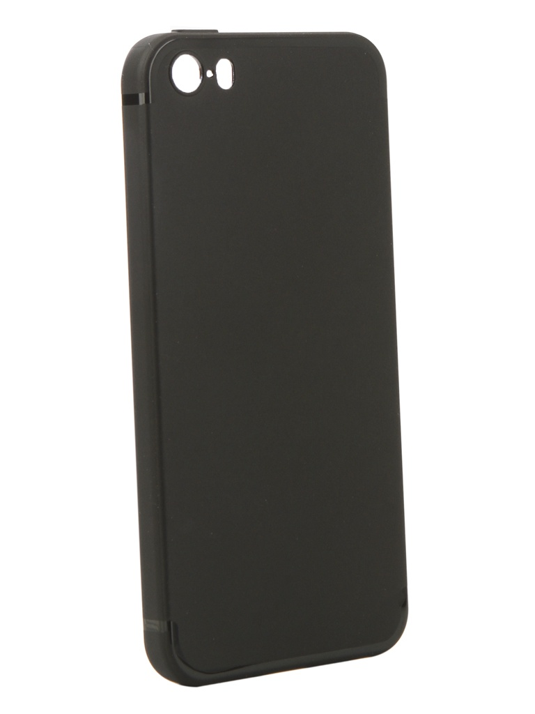 Аксессуар Чехол Innovation для APPLE iPhone 5/5S/5SE Matte Black 13311 цены онлайн
