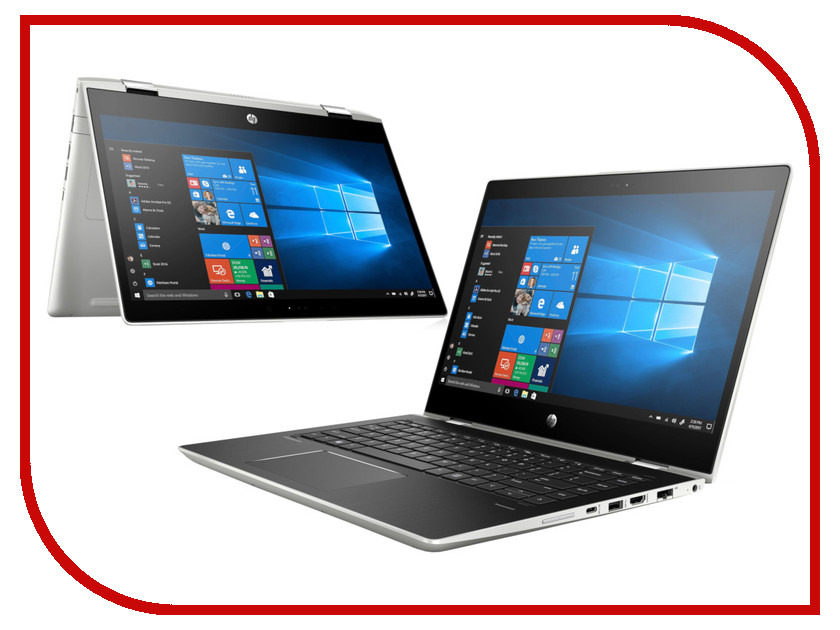 Ноутбук HP Probook x360 440 G1 4LT32EA (Intel Core i3-8130U 2.2 GHz/4096Mb/128Gb SSD/Intel HD Graphics/Wi-Fi/Bluetooth/Cam/14.0/1920x1080/Touchscreen/Windows 10 Pro 64-bit) автомобильный блок питания для ноутбука hp usb c auto adapter для hp elite x2 1012 g2 pro x2 612 g2 hp x2 210 tablet elite x3 elite tablet x2 1012 g1 hp x2 210 tablet g1 pro tablet 608 g1